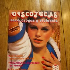 Otros: DISCOTECAS SEXO, DROGAS Y VIOLENCIA REVISTA EROTICA SOLO ADULTOS COLECCION REVISTAS CHICAS. Lote 232227895