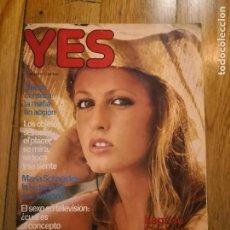 Otros: REVISTA YES Nº 28 DEL 29-12-1977 REVISTA EROTICA SOLO ADULTOS COLECCION REVISTAS CHICAS. Lote 232232775