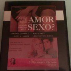 Peliculas: ¿POR QUÉ LO LLAMAN AMOR CUANDO QUIEREN DECIR SEXO? / UNA PELICULA DE MANUEL GÓMEZ PEREIRA . Lote 31212231