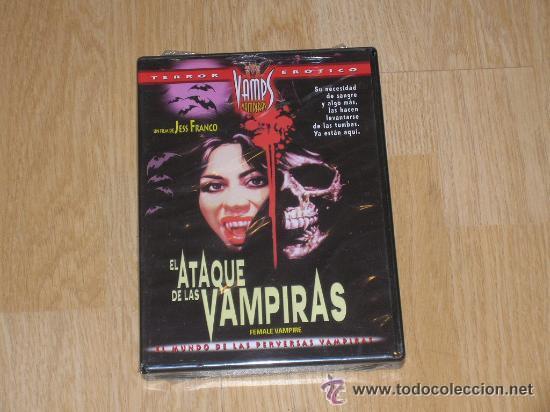 EL ATAQUE DE LAS VAMPIRAS DVD DE JESS FRANCO TERROR EROTICO NUEVA PRECINTADA (Coleccionismo para Adultos - Películas)