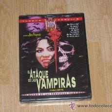 Peliculas: EL ATAQUE DE LAS VAMPIRAS DVD DE JESS FRANCO TERROR EROTICO NUEVA PRECINTADA. Lote 232176395