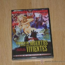 Peliculas: VIRGEN ENTRE LOS MUERTOS VIVIENTES DVD DE JESS FRANCO TERROR EROTICO NUEVA PRECINTADA. Lote 232176535
