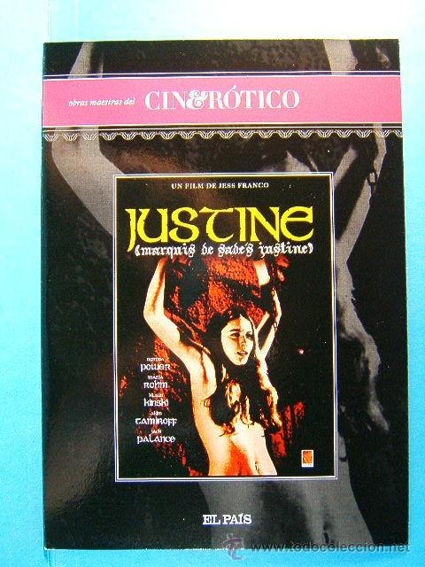 JUSTINE MARQUES DE SADE - JESS JESUS FRANCO - ROMINA POWER - CINE EROTICO - (1968) - 2009 - DVD ... (Coleccionismo para Adultos - Películas)