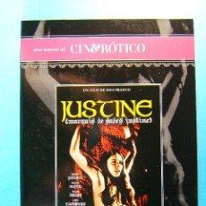 Peliculas: JUSTINE MARQUES DE SADE - JESS JESUS FRANCO - ROMINA POWER - CINE EROTICO - (1968) - 2009 - DVD .... Lote 38683918