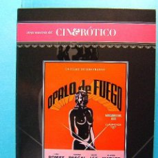 Peliculas: OPALO DE FUEGO - JESS JESUS FRANCO -LINA ROMAY -NADINE PASCAL -CINE EROTICO -(1978) - 2009 - DVD .... Lote 38694214