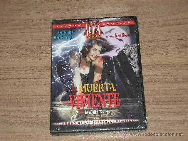 LA MUERTA VIVIENTE DVD DE JESS FRANCO TERROR EROTICO NUEVA PRECINTADA (Coleccionismo para Adultos - Películas)