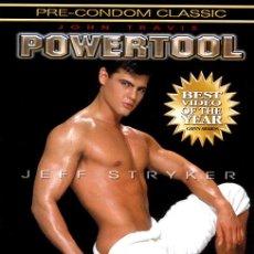 Peliculas: POWERTOOL (DVD PRECINTADO) DEL REY DEL CINE GAY JEFF STRYKER. Lote 214402195