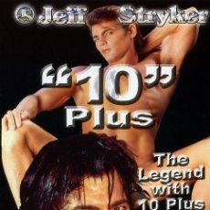 Peliculas: 10 PLUS (DVD PRECINTADO) DEL REY DEL CINE GAY JEFF STRYKER. Lote 202651255