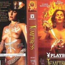 Peliculas: TEMPTRESS VHS - TERROR CON EROTISMO, POSESIONES Y DEMONIOS ASIATICOS ¡¡REBAJADA 30%!!. Lote 43406337