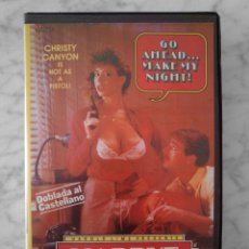 Peliculas: VHS - HARRYE LA SUCIA (DIRTY SHARY) - 1985 CHRISTY CANYON, HEATHER WAYNE, BUNNY BLEU, BEVERLY BLAIR. Lote 126092790