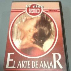 Peliculas: EL ARTE DE AMAR - VHS-EROTICA. Lote 50589522
