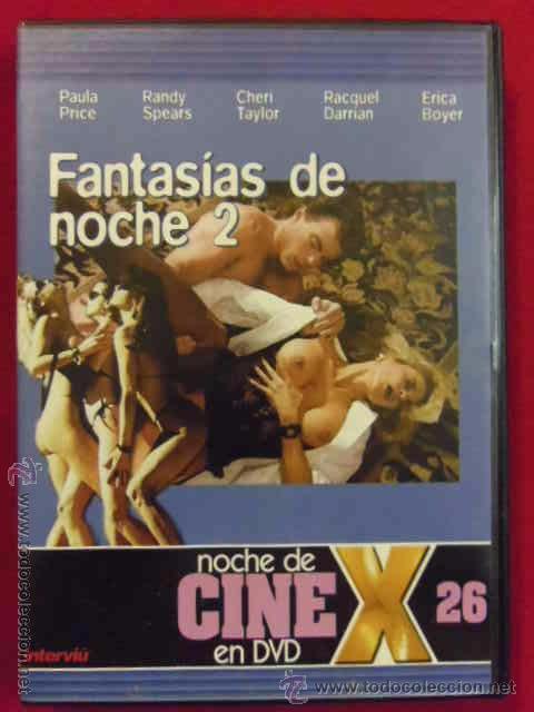 DVD PELICULA X - FANTASIAS DE NOCHE 2. NOCHE DE CINE X ---------(REF M1 E1) (Coleccionismo para Adultos - Películas)