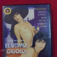 Peliculas: DVD PELICULA X - EL ULTIMO GIGOLO. - EUGENIO DE LORENZI ----------(REF M1 E1). Lote 53645015