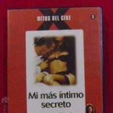 Peliculas: DVD PELICULA X - MI MAS INTIMO SECRETO - INTERVIU ------(REF M1 E1). Lote 145750114