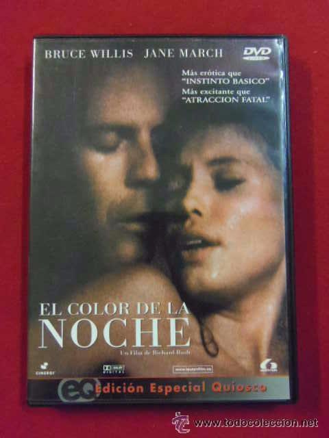 DVD PELICULA EROTICA - EL COLOR DE LA NOCHE - RICHARD RUSH - BRUCE WILLIS - JANE MARCH ---(REF M1E1 (Coleccionismo para Adultos - Películas)