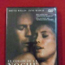 Peliculas: DVD PELICULA EROTICA - EL COLOR DE LA NOCHE - RICHARD RUSH - BRUCE WILLIS - JANE MARCH ---(REF M1E1. Lote 53645067