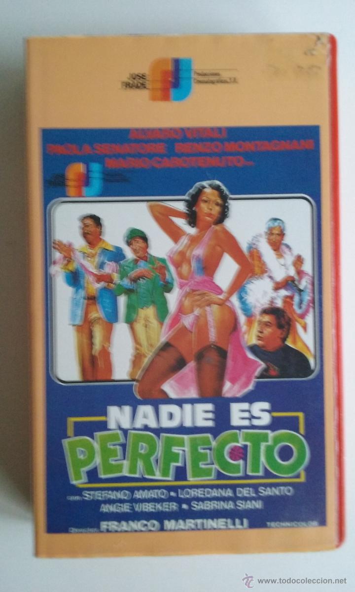 Paola Senatore vhs erotico/nadie es perfecto-paola senatore.
