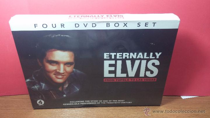 Peliculas: Eternally ELVIS, 4 DVD, sin desprecintar, que cuenta la vida de ELVIS PRESLEY - Foto 2 - 54294384