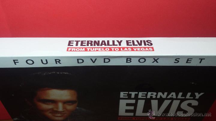 Peliculas: Eternally ELVIS, 4 DVD, sin desprecintar, que cuenta la vida de ELVIS PRESLEY - Foto 3 - 54294384