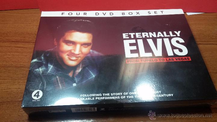 Peliculas: Eternally ELVIS, 4 DVD, sin desprecintar, que cuenta la vida de ELVIS PRESLEY - Foto 4 - 54294384