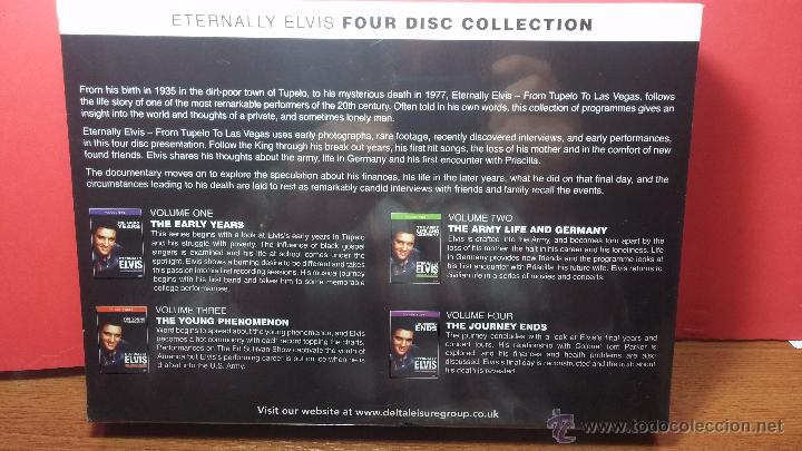 Peliculas: Eternally ELVIS, 4 DVD, sin desprecintar, que cuenta la vida de ELVIS PRESLEY - Foto 9 - 54294384