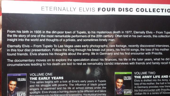 Peliculas: Eternally ELVIS, 4 DVD, sin desprecintar, que cuenta la vida de ELVIS PRESLEY - Foto 10 - 54294384