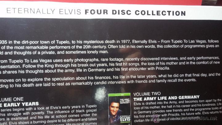 Peliculas: Eternally ELVIS, 4 DVD, sin desprecintar, que cuenta la vida de ELVIS PRESLEY - Foto 11 - 54294384