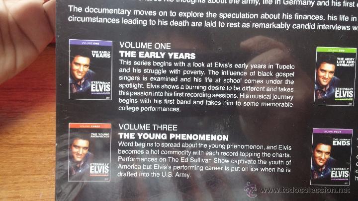 Peliculas: Eternally ELVIS, 4 DVD, sin desprecintar, que cuenta la vida de ELVIS PRESLEY - Foto 12 - 54294384