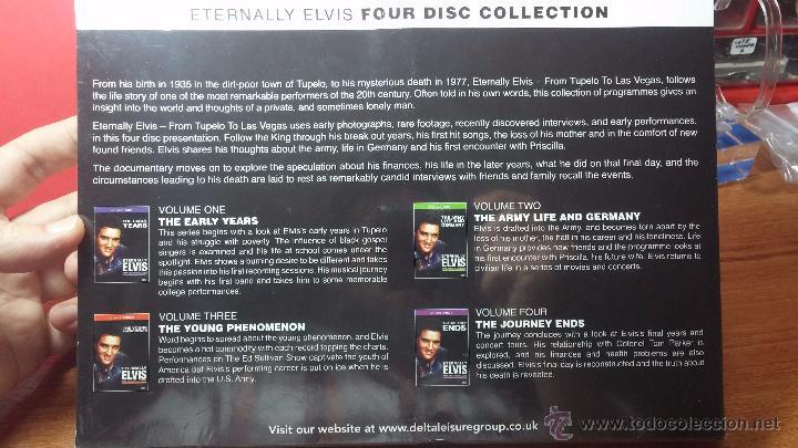 Peliculas: Eternally ELVIS, 4 DVD, sin desprecintar, que cuenta la vida de ELVIS PRESLEY - Foto 17 - 54294384