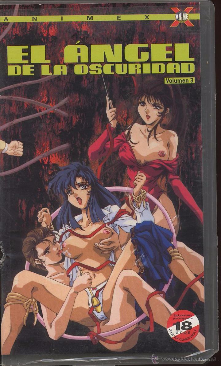 VHS ANIME X - EL ANGEL DE LA OSCURIDAD VOLUMEN 3 -------(REF M1 E1) (Coleccionismo para Adultos - Películas)