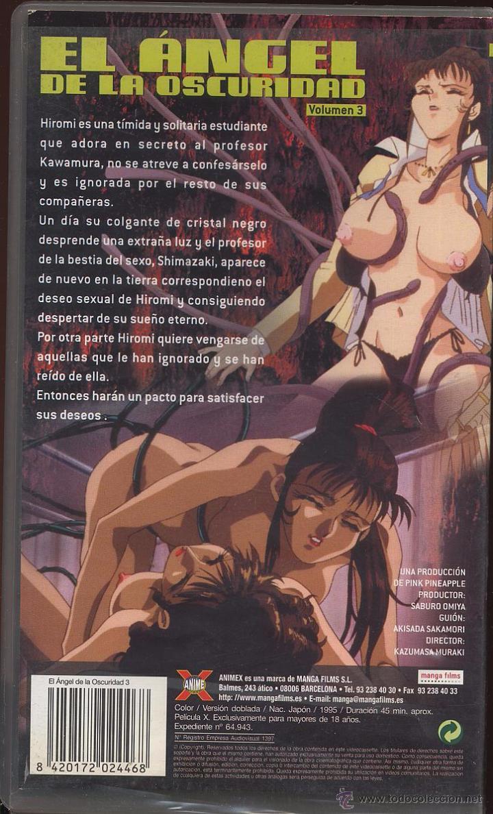Peliculas: VHS ANIME X - EL ANGEL DE LA OSCURIDAD VOLUMEN 3 -------(ref M1 E1) - Foto 2 - 54699441