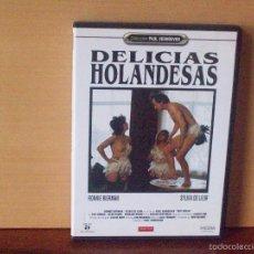 Films: DELICIAS HOLANDESAS - DIRIGIDA POR PAUL VERHOEVEN - DVD EROTICO. Lote 55859089