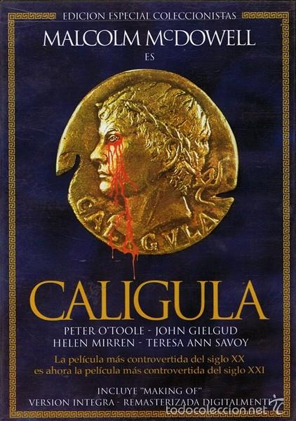 DVD CALIGULA EDICIÓN ESPECIAL COLECCIONISTAS (Coleccionismo para Adultos - Películas)