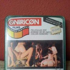 Peliculas: PELICULA 8 MM ONIRICON FILMS---LA SORPRESA DEL PASTOR- CINE EROTICO-EROTICA. Lote 56528270