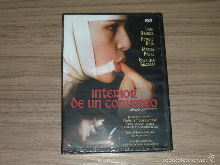 INTERIOR DE UN CONVENTO DVD CINE EROTICO NUEVA PRECINTADA (Coleccionismo para Adultos - Películas)