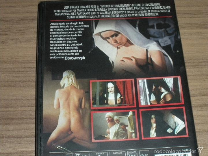 Peliculas: INTERIOR de Un CONVENTO DVD Cine EROTICO Nueva PRECINTADA - Foto 3 - 223341027
