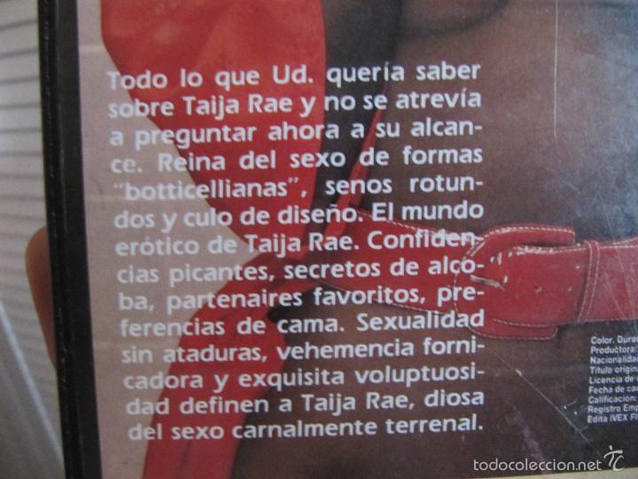 Peliculas: TAIJA-TAIJA RAE VHS DOBLADO AL CASTELLANO - Foto 3 - 59909923