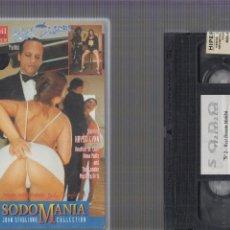 Peliculas: VHS, SODOMANIA Nº 2 - EROTISMO VINTAGE. Lote 60833579