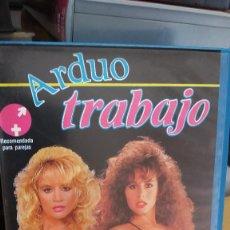 Peliculas: ARDUO TRABAJO- VHS- RON SUMMERS. Lote 61504623