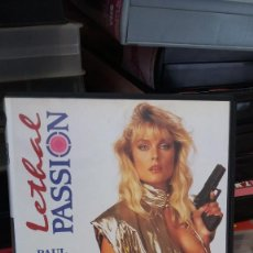 Peliculas: LETHAL PASSION- VHS- BUCK ADAMS. Lote 61504795