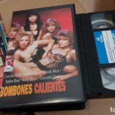 Peliculas: BOMBONES CALIENTES- VHS. Lote 61649340