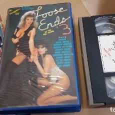 Peliculas: LOOSE ENDS- VHS ERICA BOYER- BIONCA. Lote 61649412