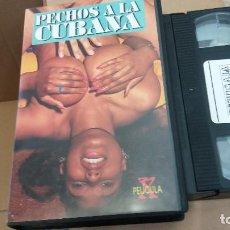 Peliculas: PECHOS A LA CUBANA- VHS. Lote 61650528