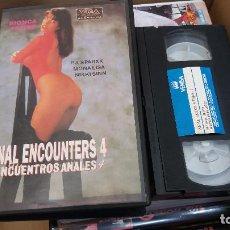 Peliculas: ANAL ENCOUNTERS 4- VHS- BIONCA. Lote 61650624