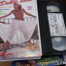 Peliculas: DOBLE SEXO- VHS- LEE CARROLL. Lote 61651328