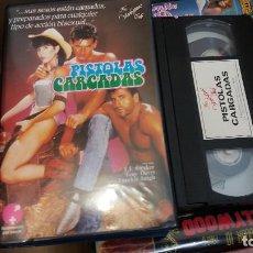 Peliculas: PISTOLAS CARGADAS- VHS. Lote 61651632