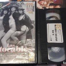 Peliculas: LAS INTOCABLES- VHS- RODADA EN 35MM. Lote 61651860