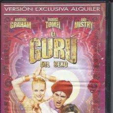 Peliculas: EL GURU DEL SEXO - SEGUNDA MANO VERSIÓN ALQUILER DVD BUENO. Lote 64467815