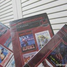 Filmes: LOTE DE 9 PELICULAS EROTICAS EN 3 DVDS-CINE DE MEDIANOCHE-PRECINTADAS. Lote 107050002