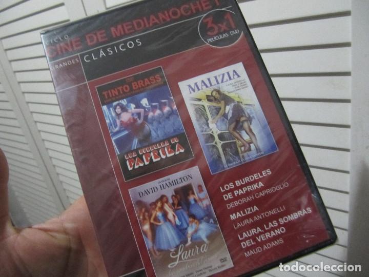 Peliculas: lote de 9 peliculas eroticas en 3 dvds-cine de medianoche-precintadas - Foto 3 - 107050002